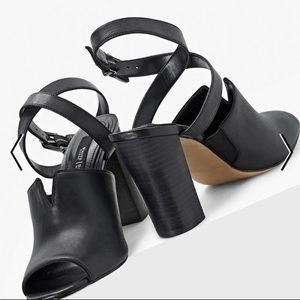 WHBM 7.5 Brees | New Strappy Heeled Mules